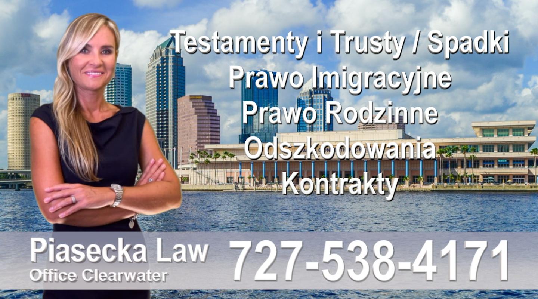 Tampa Bay Polski, Prawnik, Adwokat, Floryda, USA, Florida, Polish, Attorney, Lawyer, Agnieszka Piasecka, Aga Piasecka, Piasecka, Polscy Prawnicy Adwokaci Tampa